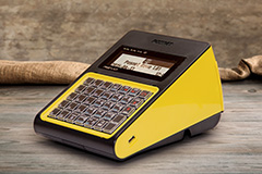 Kasa fiskalna Posnet Revo - Posnet Revo - słoneczny żółty
